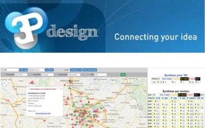 3P Design : de la cartographie pour votre suivi commercial