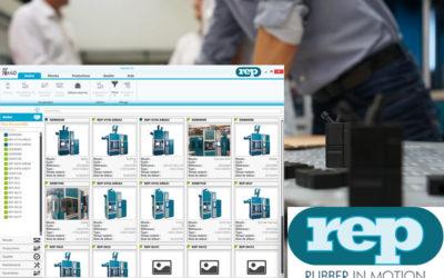 Avec REP Net 4.0, REP fait évoluer sa supervision de machines