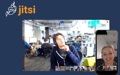 Jitsi : la solution libre de web-conférence où règne confidentialité et simplicité