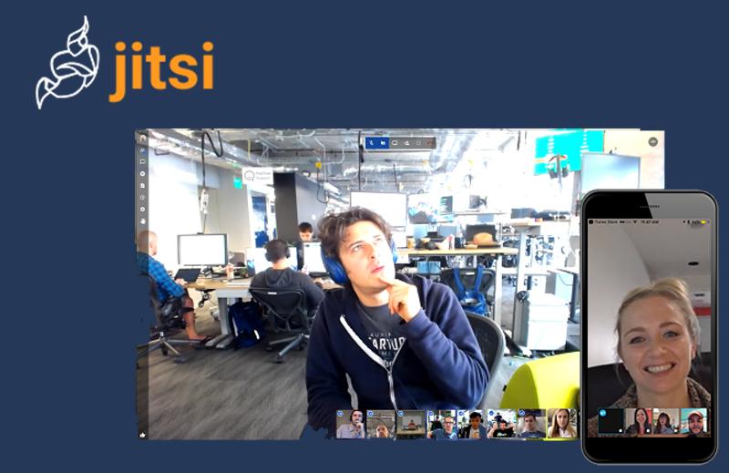 Jitsi : la solution libre de web-conférence où règnent confidentialité et simplicité